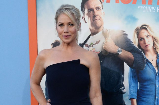 Christina Applegate at the Los Angeles premiere of 'Vacation' on July 27. The actress recently admitted she regrets passing on 'Legally Blonde.' File photo by Jim Ruymen/UPI