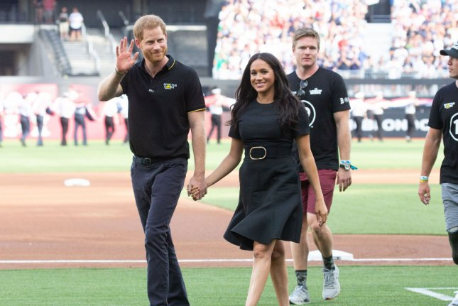 Prince Harry and Meghan Markle are suing the Daily Mail and Associated Newspapers for publishing a private letter Markle sent to her father. File Photo by Mark Thomas/UPI