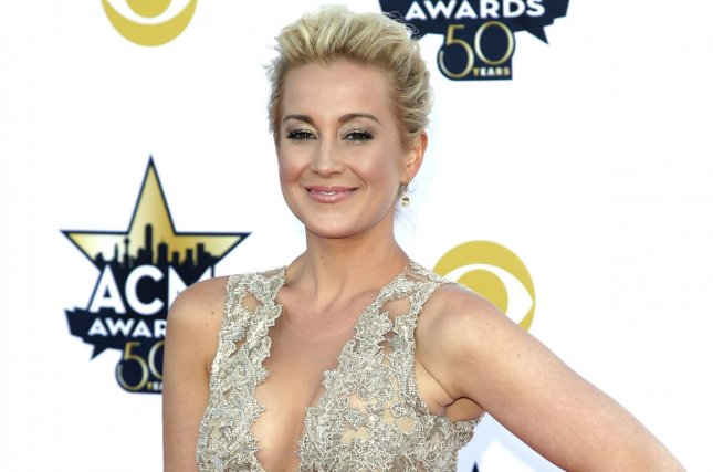 Singer Kellie Pickler arrives at the 50th annual Academy of Country Music Awards last year. File Photo by John Angelillo/UPI