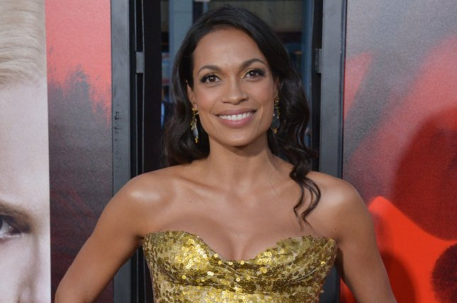 Rosario Dawson attends the premiere of Unforgettable on April 18. In a new interview, Dawson states that she will not be appearing in Netflix's upcoming Punisher series. Photo by Jim Ruymen/UPI