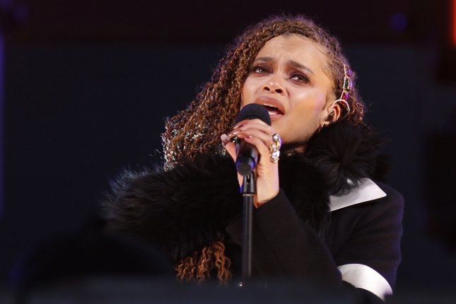 Andra Day released Phone Dies, a new single produced by Anderson .Paak. File Photo by Gary Hershorn/UPI