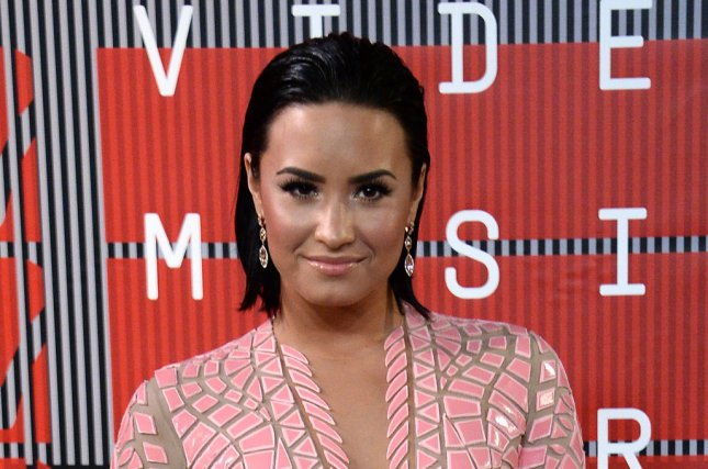Demi Lovato at the MTV Video Music Awards on August 30. File photo by Jim Ruymen/UPI