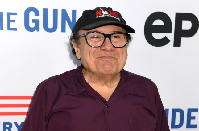 Danny DeVito attends the premiere of the documentary Under the Gun in Beverly Hills on May 3, 2016. The actor will soon make his Broadway debut in Arthur Miller's The Price. File Photo by Michael Owen Baker/UPI