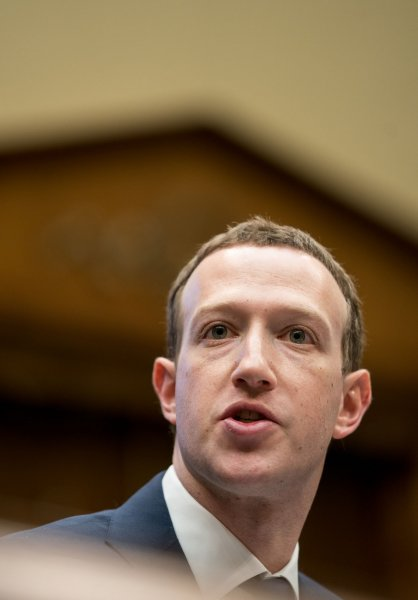 Facebook co-founder and CEO Mark Zuckerberg is the third-richest person in the world, the Bloomberg Billionaires Index showed Saturday. Photo by Erin Schaff/UPI