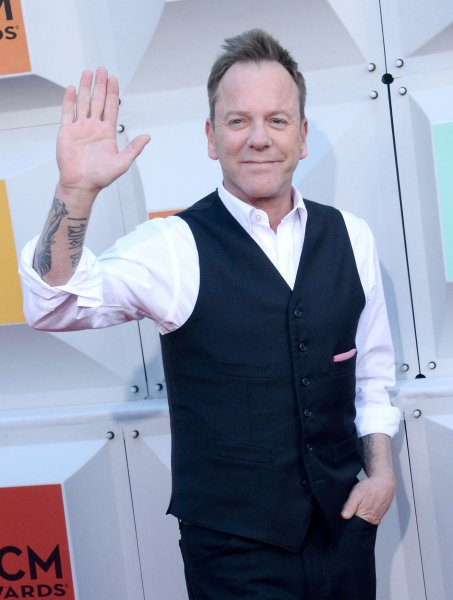 Actor Kiefer Sutherland's political thriller Designated Survivor is getting a Korean remake, which will stream this summer on Netflix. File Photo by Jim Ruymen/UPI