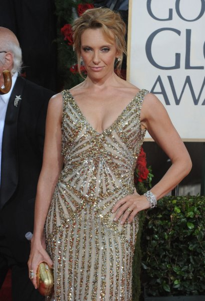 Toni Collette arrives at the 67th annual Golden Globe Awards at the Beverly Hilton on January 17, 2010 in Beverly Hills, California. UPI /Jim Ruymen