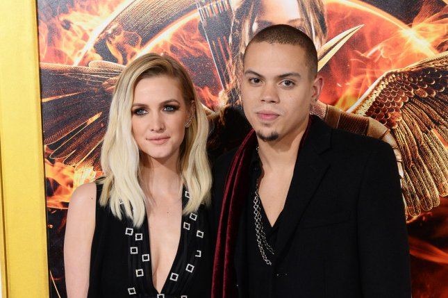 Ashlee Simpson and her husband, actor Evan Ross are expecting a baby girl. File photo by Jim Ruymen/UPI