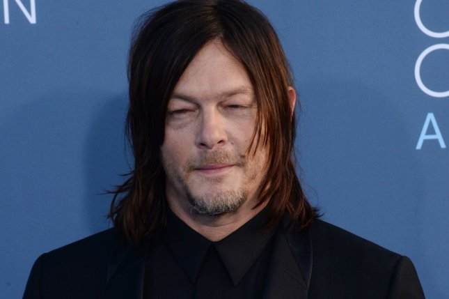 The Walking Dead actor Norman Reedus attends the 22nd annual Critics' Choice Awards in Santa Monica on December 11, 2016. File Photo by Jim Ruymen/UPI