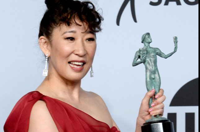 Actress Sandra Oh will guest host Saturday Night Live on March 30. File Photo by Jim Ruymen/UPI.