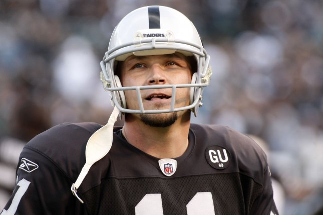Former Oakland Raiders kicker Sebastian Janikowski is retiring from the NFL after 19 seasons. He spent 18 seasons with the Raiders before joining the Seattle Seahawks in 2018. File Photo by Terry Schmitt/UPI