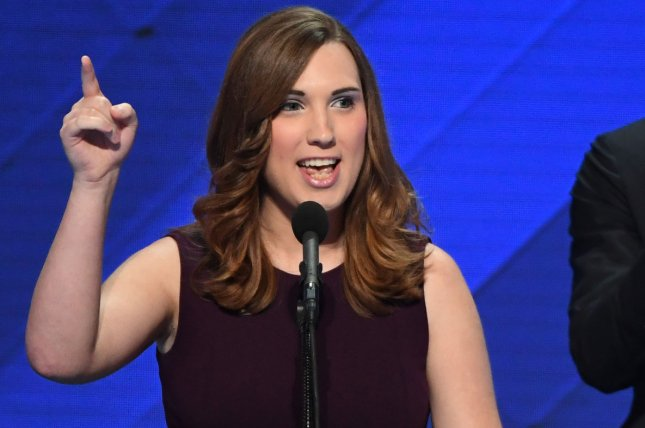 Democrat Sarah McBride made history on Tuesday when she won a state Senate seat in Delaware. She becomes the United States' highest-ranking transgender elected official and the first openly transgender person to serve in a state Senate anywhere in the nation. File Photo by Pat Benic/UPI