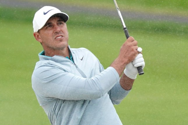 Golfer Brooks Koepka made eagles on hole Nos. 3 and 17 in the final round to win the 2021 Phoenix Open on Sunday in Scottsdale, Ariz. File Photo by Kevin Dietsch/UPI