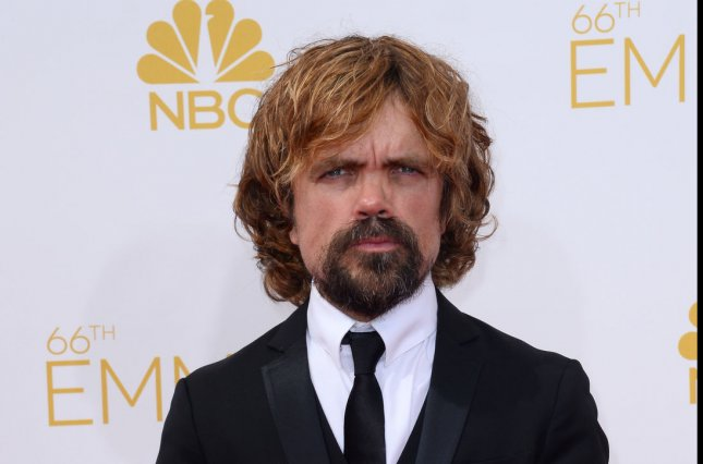 Peter Dinklage's TV drama Game of Thrones is up for 24 Primetime Emmy Awards. Photo by Jim Ruymen/UPI