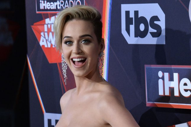 Katy Perry attends the iHeartRadio Music Awards on March 5. File Photo by Jim Ruymen/UPI
