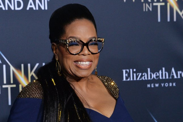 Oprah Winfrey is now developing content for Apple. File Photo by Jim Ruymen/UPI