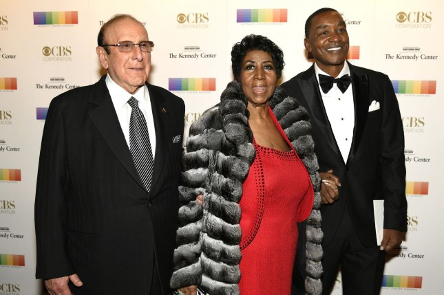 Aretha Franklin (C) died Thursday after she was hospitalized Monday for an undisclosed illness. She was 76. File Photo by Mike Theiler/UPI