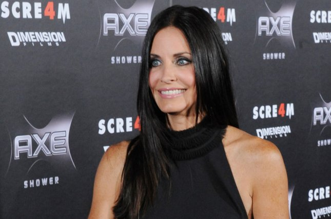 Courteney Cox, a cast member in the motion picture thriller Scream 4, in Los Angeles on April 11, 2011. She is to appear on Running Wild with Bear Grylls. File Photo by Jim Ruymen/UPI