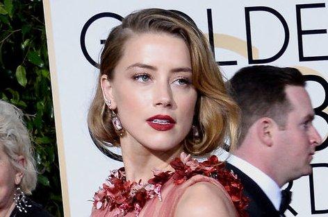 Amber Heard at the Golden Globe Awards on January 10. File Photo by Jim Ruymen/UPI