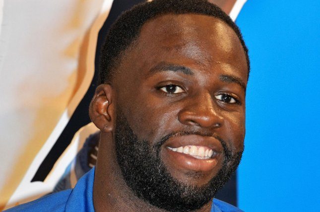 Golden State Warriors forward Draymond Green proposed to girlfriend Hazel Renee in January while onboard a yacht. File Photo by Keizo Mori/UPI