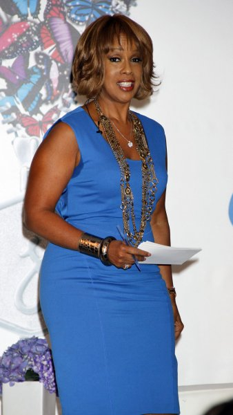 Gayle King, one of the co-hosts for CBS' new morning program, set to debut . UPI /Laura Cavanaugh