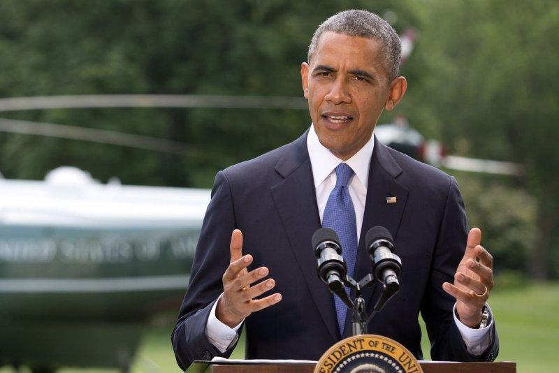 President Barack Obama. UPI/Martin H. Simon/Pool