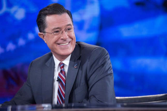 Stephen Colbert will play a priest in an episode of The Mindy Project. File photo by Andrew Harrer/Pool