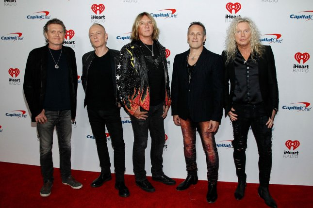 Def Leppard has announced the dates for their joint summer tour with Motley Crue, Poison and Joan Jett. File Photo by James Atoa/UPI