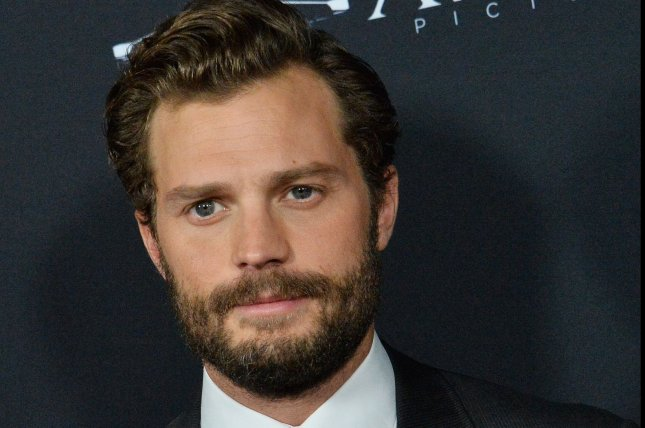 Jamie Dornan and his family are mourning the death of his father, Dr. Jim Dornan. File Photo by Jim Ruymen/UPI