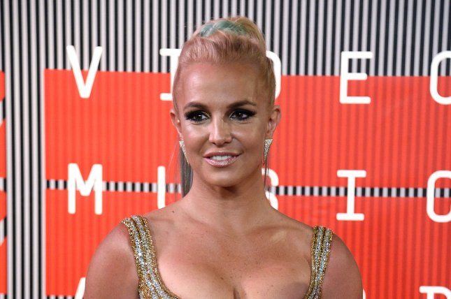 Britney Spears at the MTV Video Music Awards on August 30, 2015. File Photo by Jim Ruymen/UPI