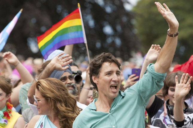 Trudeau becomes first sitting PM to march in Vancouver