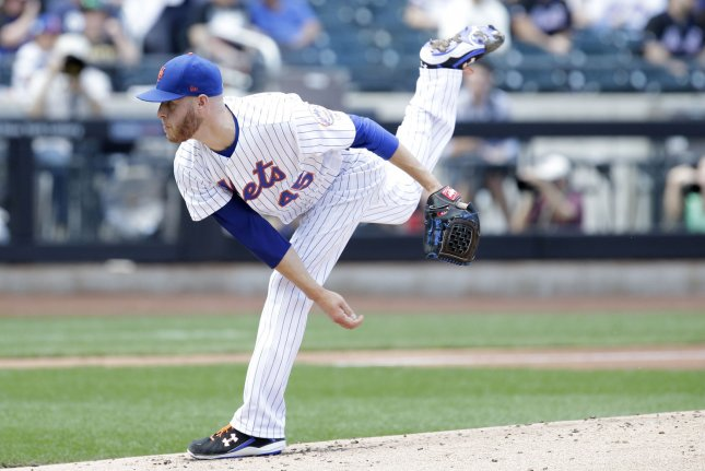 New York Mets place pitcher Zack Wheeler on DL