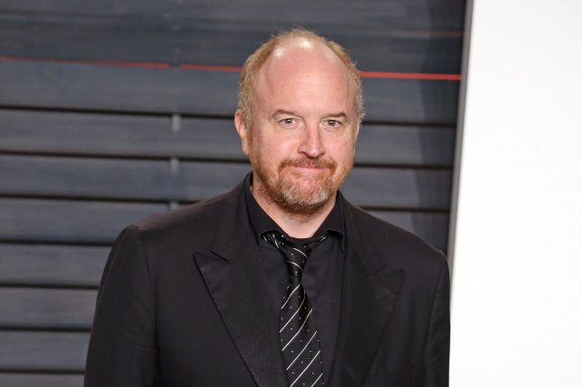 Louis C.K. attends the 2016 Vanity Fair Oscar Party on February 28, 2016. File Photo by David Silpa/UPI
