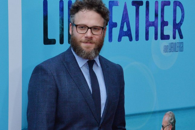 Actor Seth Rogen is to guest star on The Twilight Zone. File Photo by Jim Ruymen/UPI