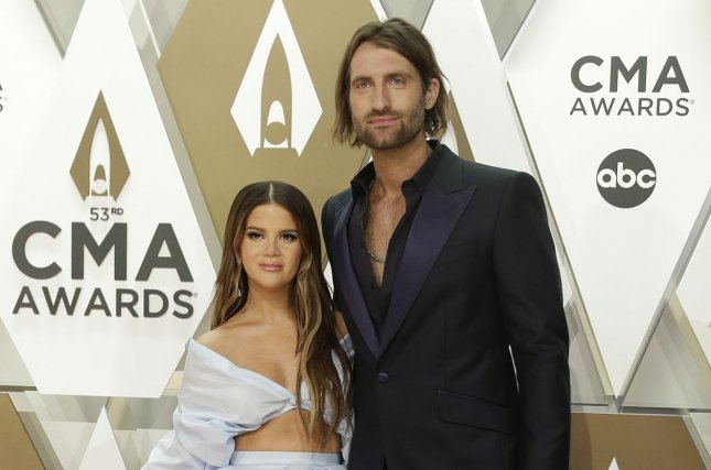 Ryan Hurd (R) and his wife, Maren Morris, performed the duet Chasing After You on Late Night with Seth Meyers. File Photo by John Angelillo/UPI