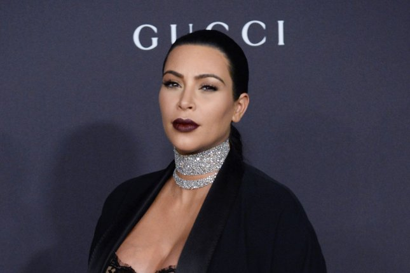Kim Kardashian at the LACMA Art + Film gala on November 7, 2015. File Photo by Jim Ruymen/UPI