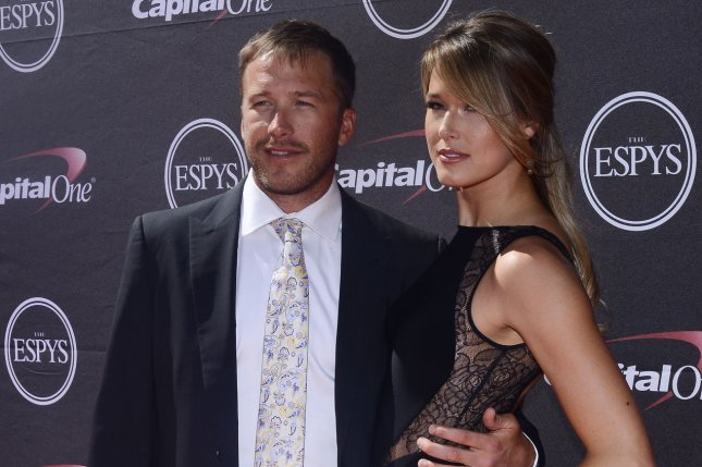 Bode Miller (L) and Morgan Beck Miller said their daughter's drowning happened in the blink of an eye. File Photo by Jim Ruymen/UPI