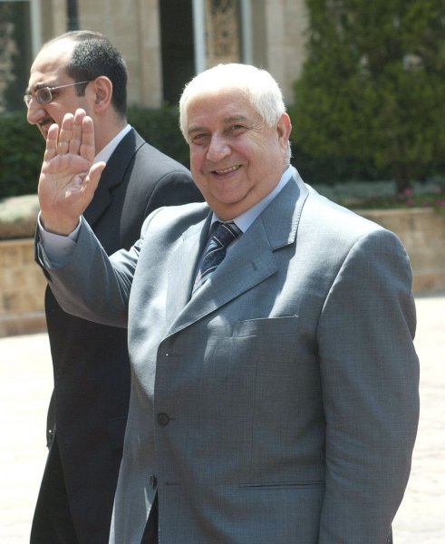 Syrian Foreign Minister Walid Moualem (UPI Photo)