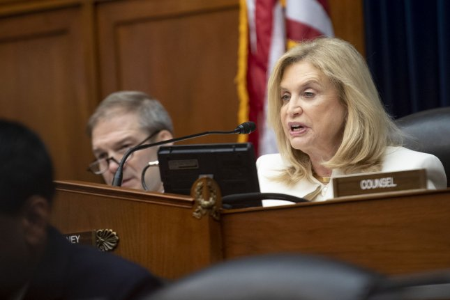 House oversight committee Chairwoman Carolyn Maloney‎, D-N.Y., outlined a series of reasons an inspector general could be dismissed. File Photo by Kevin Dietsch/UPI