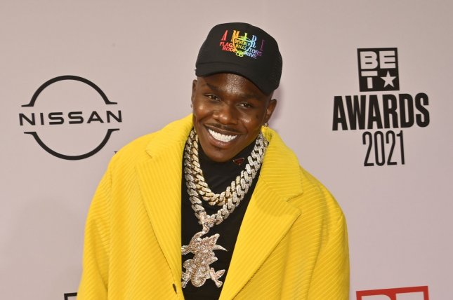 DaBaby won't be performing atLollapalooza this weekend as planned. File Photo by Jim Ruymen/UPI