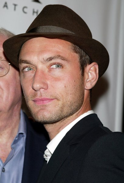 Jude Law at the Paris Theater in New York on October 2, 2007. (UPI Photo/Laura Cavanaugh)