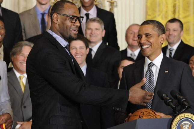 half off 92ea0 05cbc Report  LeBron James hits on woman during trip to White House with Miami  Heat