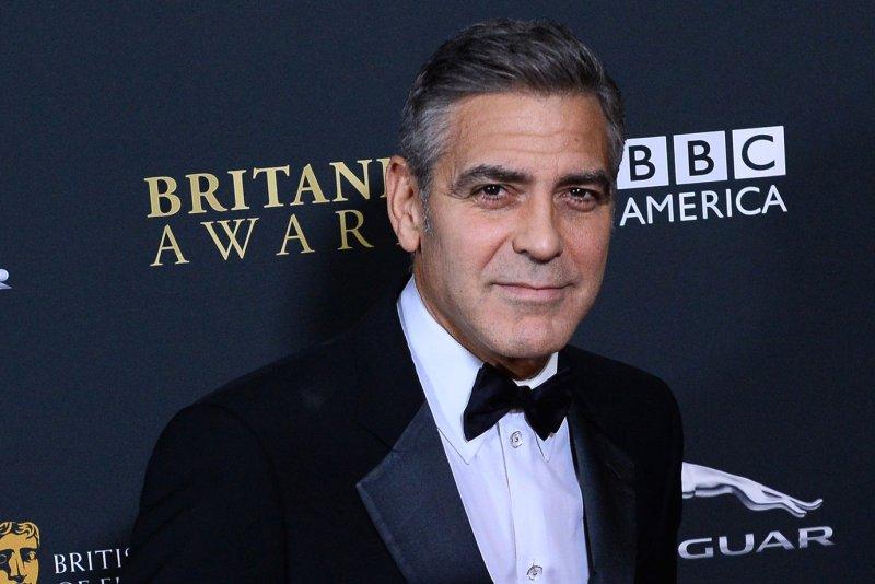 George Clooney. UPI/Jim Ruymen