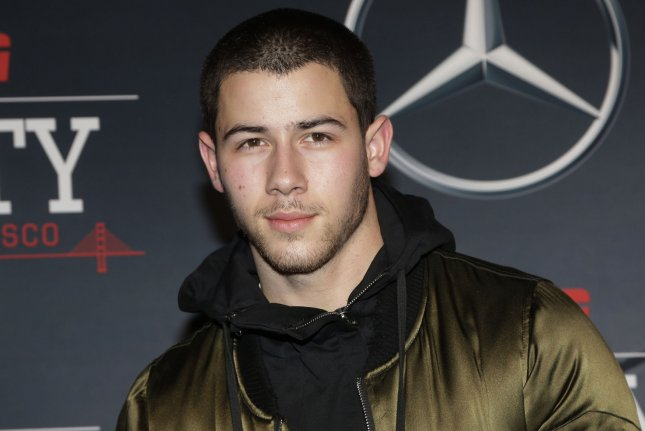 Nick Jonas at ESPN The Party on February 5. The actor reiterated he's single Monday on Twitter. File Photo by John Angelillo/UPI
