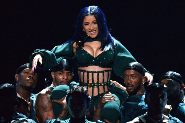 Cardi B has earned the most BET Hip Hop Awards nominations with 10. File Photo by Jim Ruymen/UPI