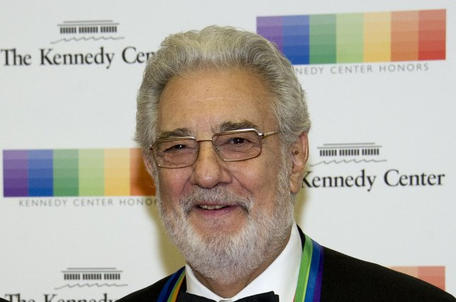 Placido Domingo resigned from the Los Angeles Opera Wednesday amid allegations of sexual harassment. File Pool Photo by Ron Sachs/UPI