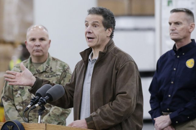 Coronavirus US: New York hit 'like a bullet train', says Cuomo