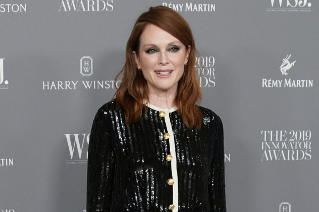 Julianne Moore will play a con artist in Sharper, a new film being developed by Apple and A24. File Photo by John Angelillo/UPI