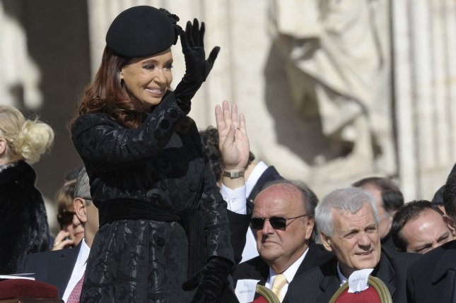 A prosecutor in Argentina called on a federal judge to investigate President Cristina Fernandez de Kirchner on allegations she covered up a bombing at a Jewish center. File photo by Stefano Spaziani/UPI