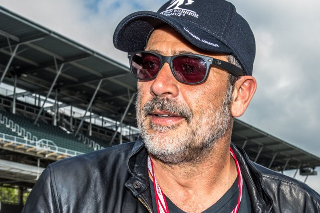 Jeffrey Dean Morgan opened up at New York Comic Con about nefarious deeds committed by his Walking Dead character Negan. File Photo by Edwin Locke/UPI