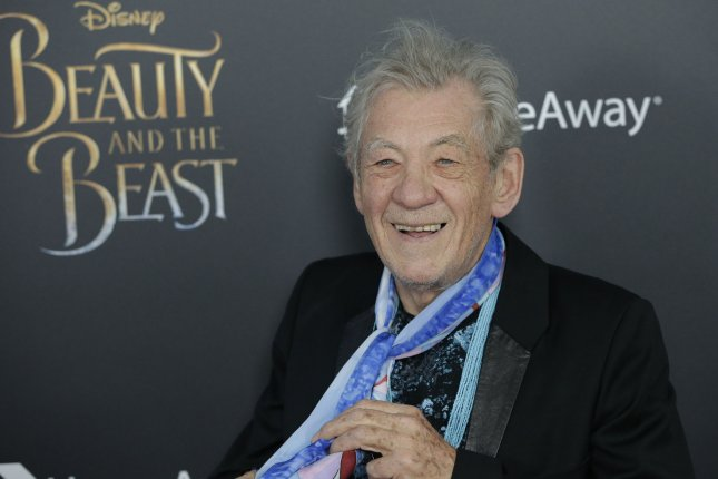 Ian McKellen said he's not too old to portray Gandalf in Amazon's adaptation of The Lord of the Rings. File Photo by John Angelillo/UPI